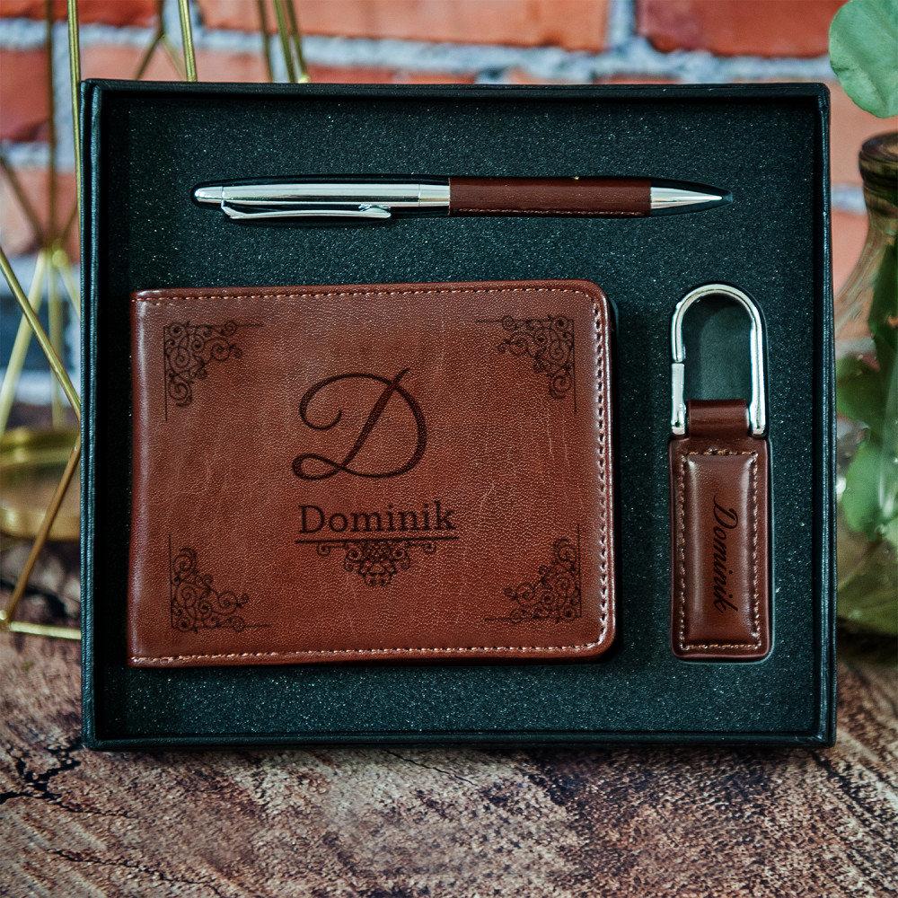 zestaw z portfelem - jaki prezent na 50 urodziny