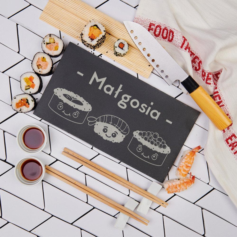 zestaw do sushi - pomysł na prezent na 18 dla dziewczyny