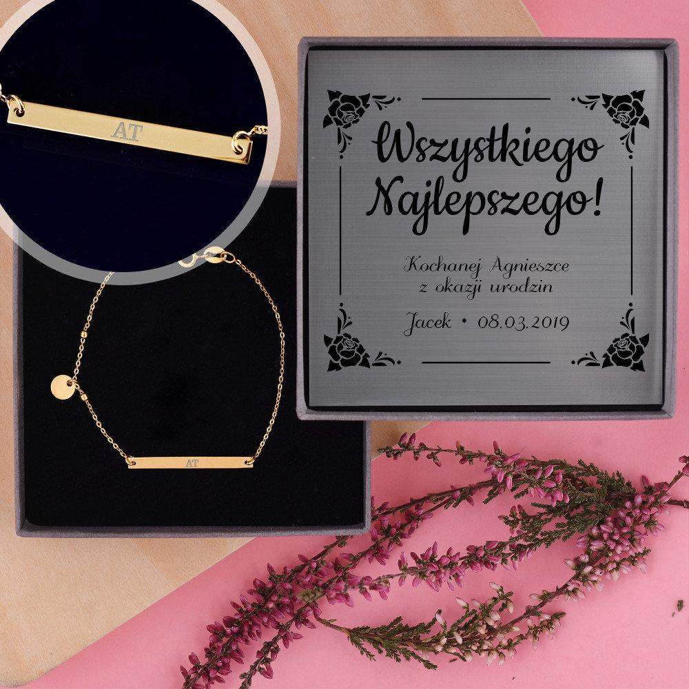 bransoletka - jaki prezent na 50 urodziny dla kobiety