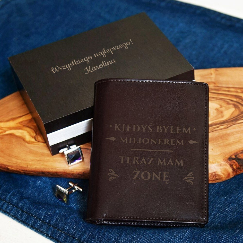 portfel - prezent na walentynki dla niego