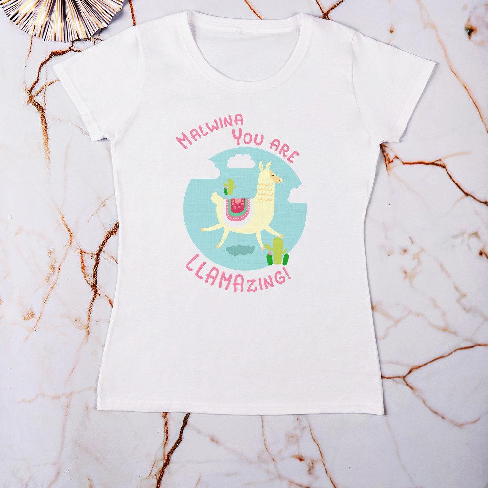 koszulka - pomysł na prezent na 18 dla dziewczyny