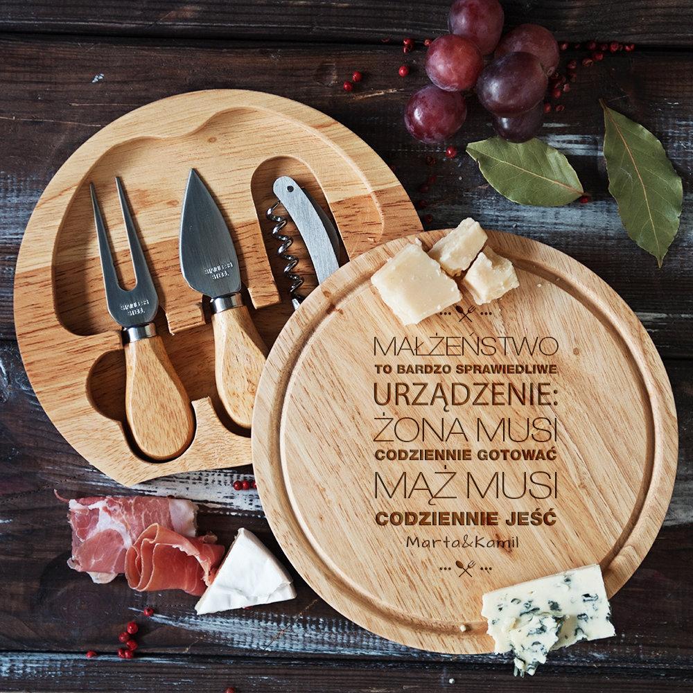 deska do sera - jaki prezent na ślub