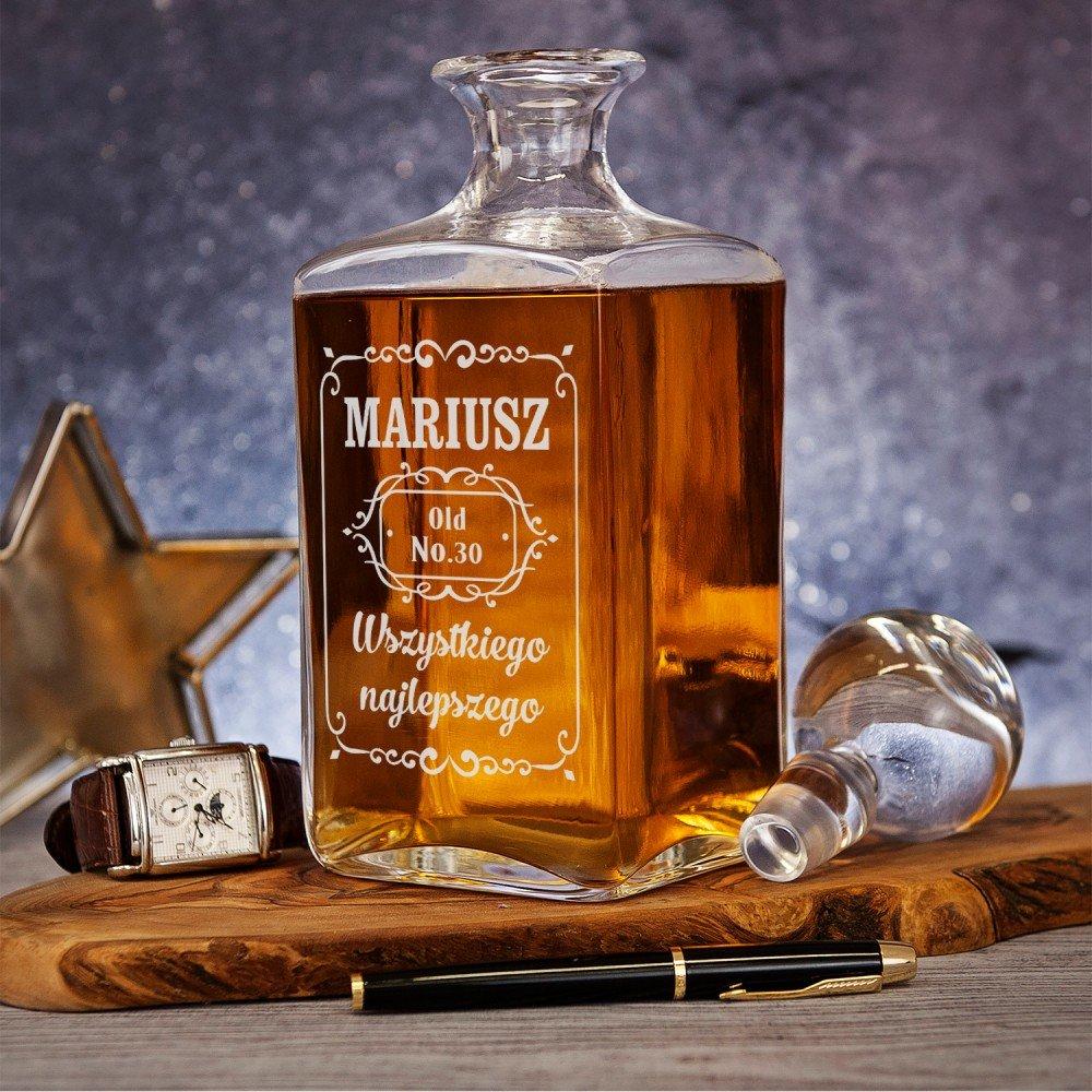 karafka do whisky - jaki prezent na 18 urodziny