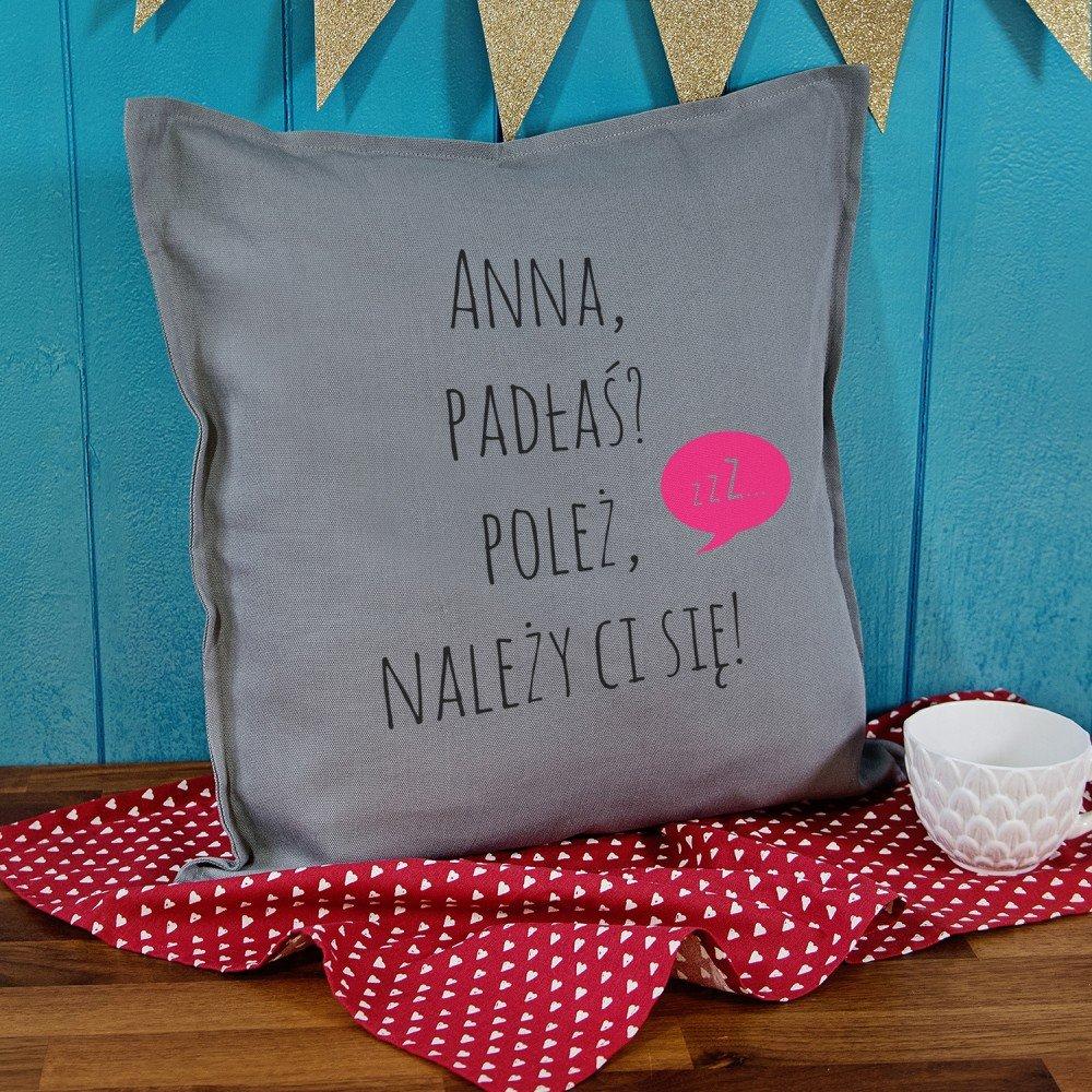 poduszka - prezent na imieniny dla kobiety