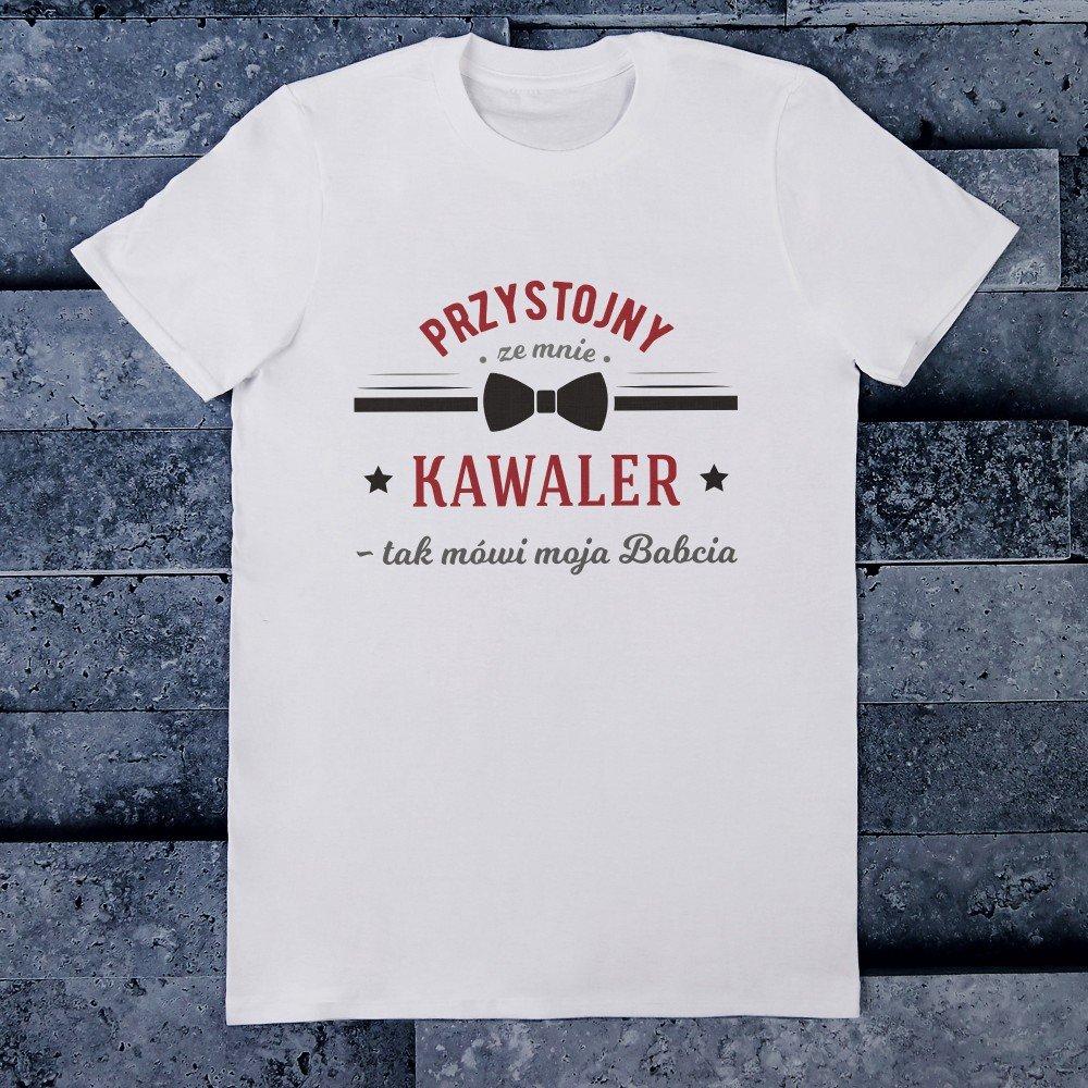 koszulka - jaki prezent dla mężczyzny
