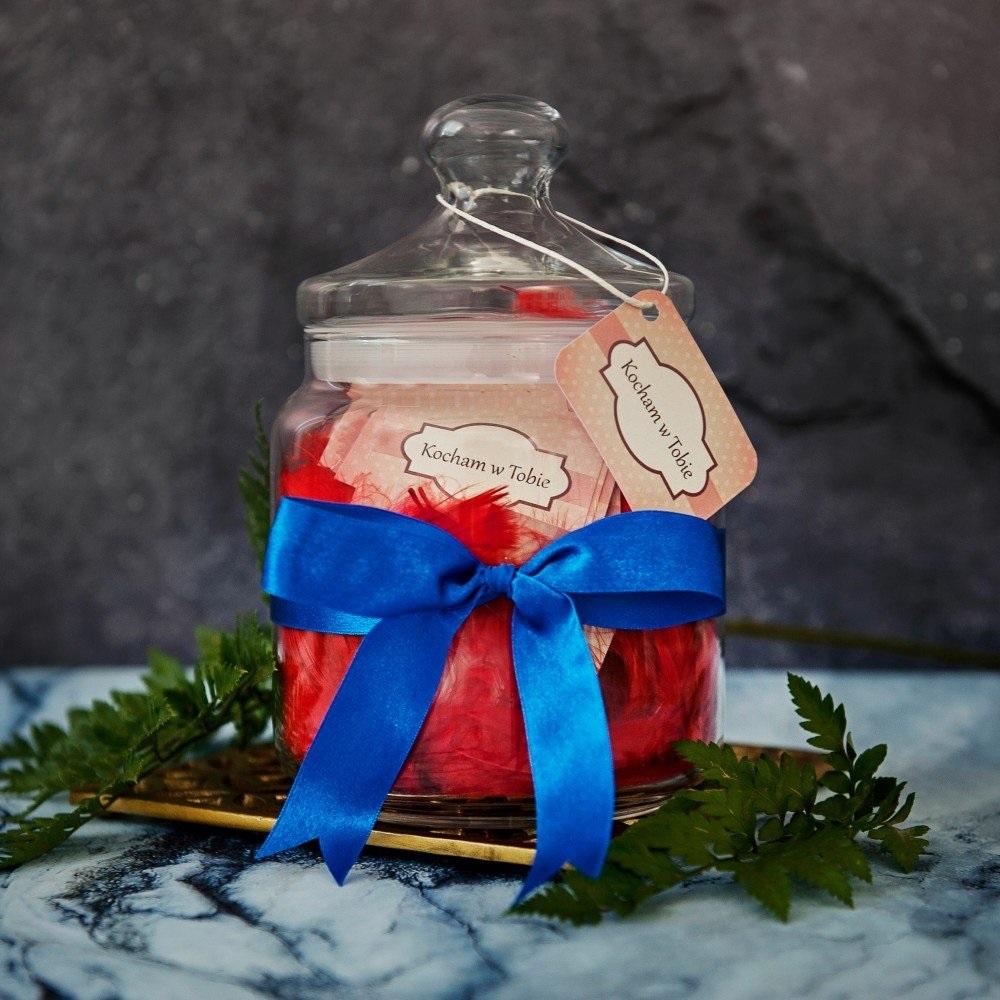 słój życzeń - prezent na walentynki dla niego