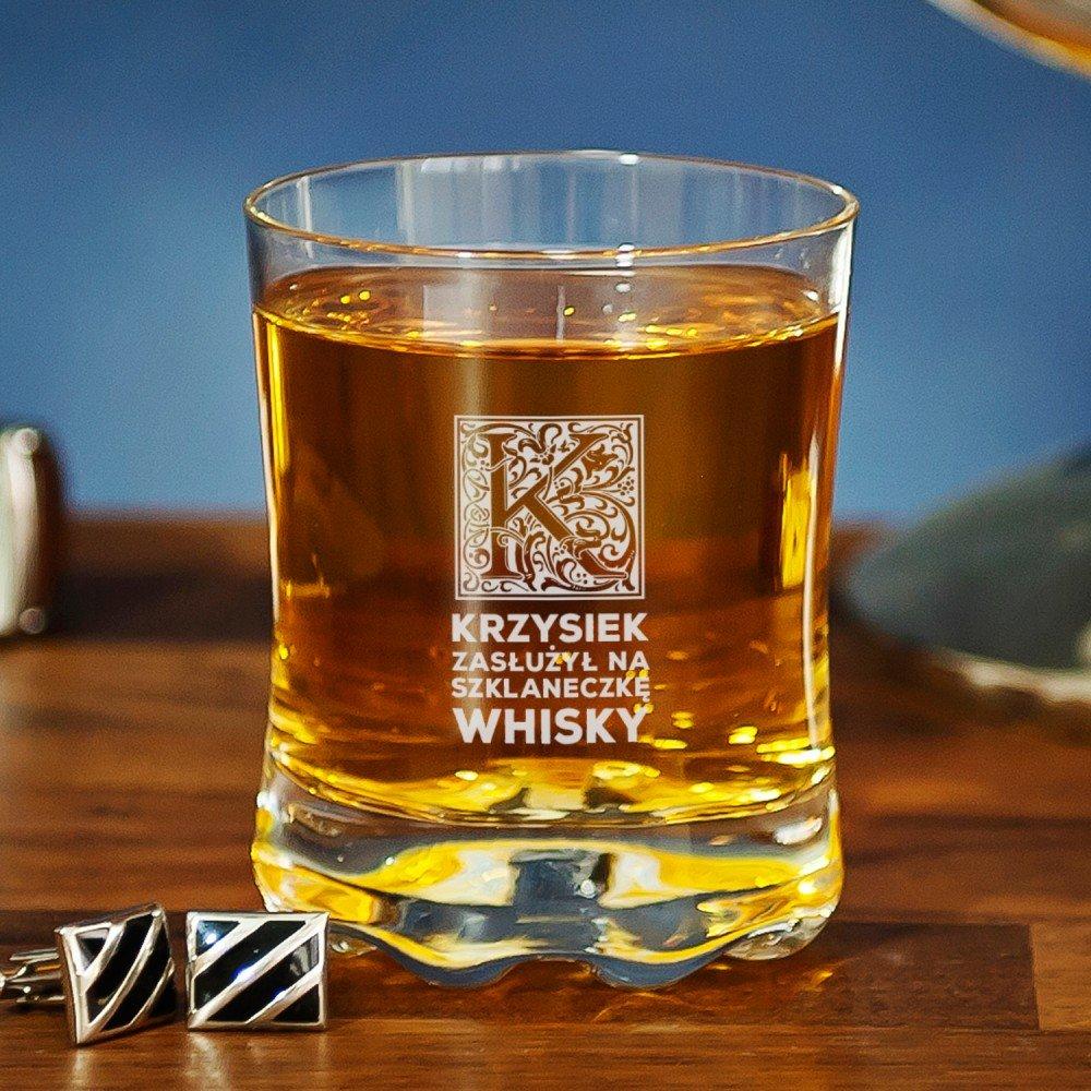 szklanka do whisky - co na prezent dla męża