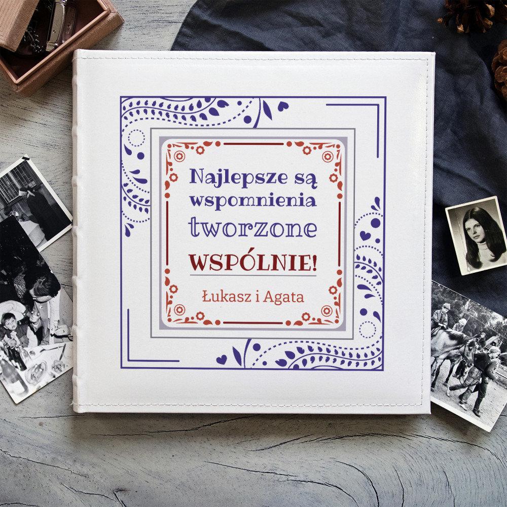 album - pomysł na prezent na rocznicę ślubu