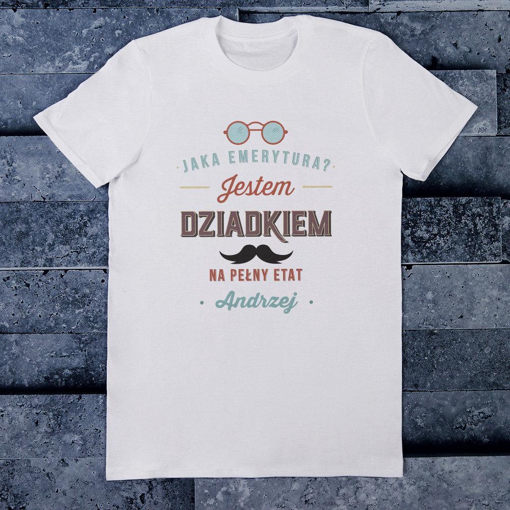 koszulka - prezent dla dziadka