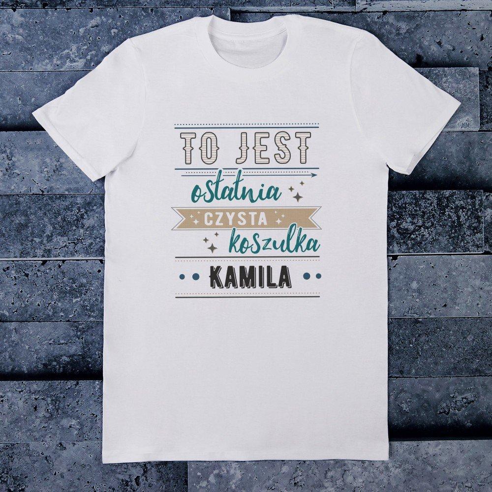 koszulka - prezent dla brata